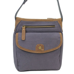 Vintage Cotton Canvas Shoulder Bag CS12BG